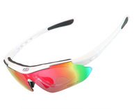 New Arrive UV400 Protection Outdoor Sports Goggles Safety Eyewear white colors ,free shipping