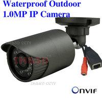 HD 720P 1.0MP IP Camera IPC ONVIF 2.0 Waterproof Outdoor CCTV IP Camera