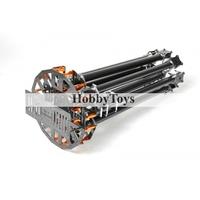 SkyKnight X8-1100 High Strength Carbon Fiber FPV Folding Octacopter Frame Kit(25mm Tube)