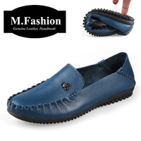 Factory sale Big size 36 - 47 high quality 2014 handmade Genuine leather flats men casual driving shoes Brand New loafers