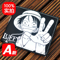 NEW  One Piece wallet  Monkey D Luffy Athy wallet  Anime Products   Free Shipping