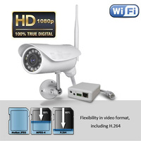 Waterproof HD 1080P Wireless Security IP Camera outdoor, P2P Infrared Night Vision IP Cam Free Shipping