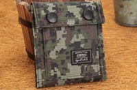 2014 Free Shipping Super Cool Camo Sports Boys Canvas Clutch Checkbook Change Coin Card Bag Purse Wallet
