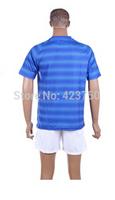 2014 Brazil World Cup Soccer Jersey Short Sleeve Brazil Away Blank Blue Thailand Super A Quality Football Shirt Soccer Jersey