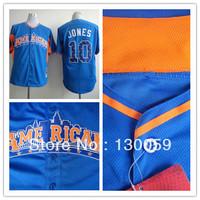 Free Shipping Cheap Men's 2013 All Star American League Baltimore Orioles #10 Adam Jones Blue Baseball Jersey,Mix Order