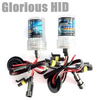 Free Shipping 2pcscar hid lamp socket H1 H3 H7 HB3 HB4 35W single beam  xenon bulb hid light