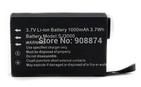 Original SJ3000 3.7V 1000mAh Li-ion Battery for Sport Camera SJ3000 SJ 3000 Free shipping