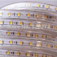 50m  220V led strip 5630SMD 60LEDs/m,waterproof flexible strip light  for Christmas home decoration