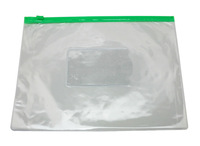 "Freeshipping Soft transparent PVC Clear Vinyl A5 File Folders Holder Bag,9"" X 7"",Various Colors,Pack of 5"