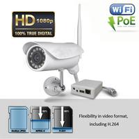 Wireless & POE HD 1080P IP Security Camera Outdoor Night Vision P2P CCTV IP Cam