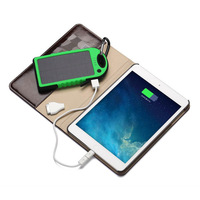 Original iRock 5000mAh Outdoor 2.1A Solar waterproof Anti-Drop Anti Dust Fast-Charging Solar Power Bank For All Smart Phone