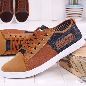 2014 новое поступление пары тапочек холсте мужской обуви дышащий мода лоскутное муёчины кроссовки кружево - платформа свободного покроя сыщик RM-289