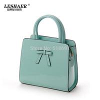 Wholesale Hot Specials Korean bow Glossy handbag Casual fashion handbags Ms. diagonal shoulder bag
