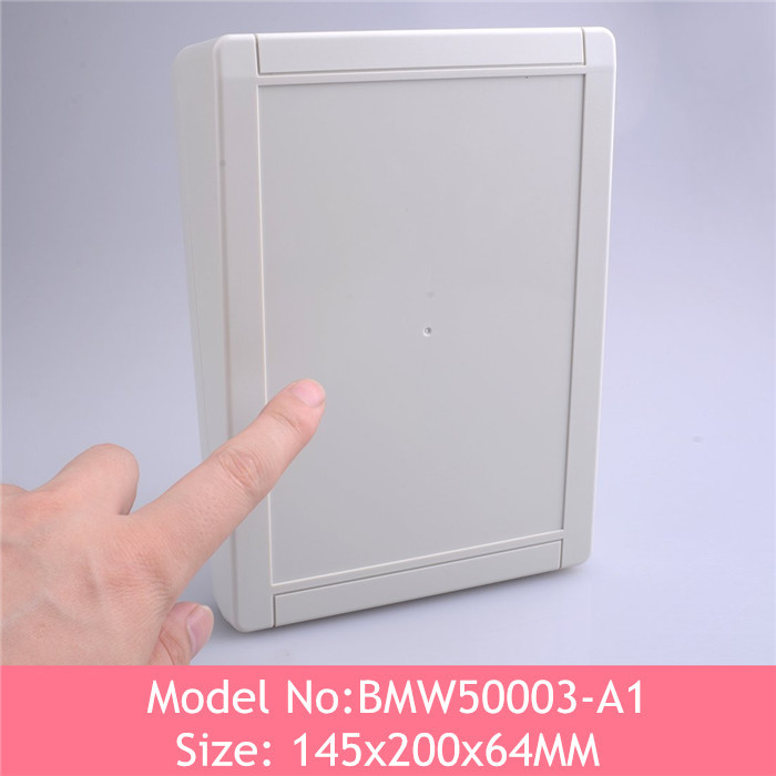 Free shipping abs plastic enclosure electronic junction box Plastic electronics project box 200*145*63mm(China (Mainland))