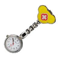 20PCS Red Cross Design Nurse Portable Pocket Pendant Watches Free Shipping