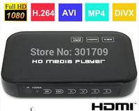 Cheap Mini Full HD 1080P USB External HDD/SD Media Player AV/VGA/HDMI Output H.264 MKV Free Shipping