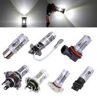 2pcs 25W XPE Cree LED cars Fog lights Lamp Tail parking car light source 1156/ba15s H3 H4 H7 H11 H16 3157 9005/HB3 9006/HB4 T10