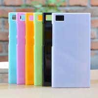 Hot Soft silicon Semi Transparent Gel Anti-skid TPU dustproof plug case Xiaomi M3 Mi3 MI3