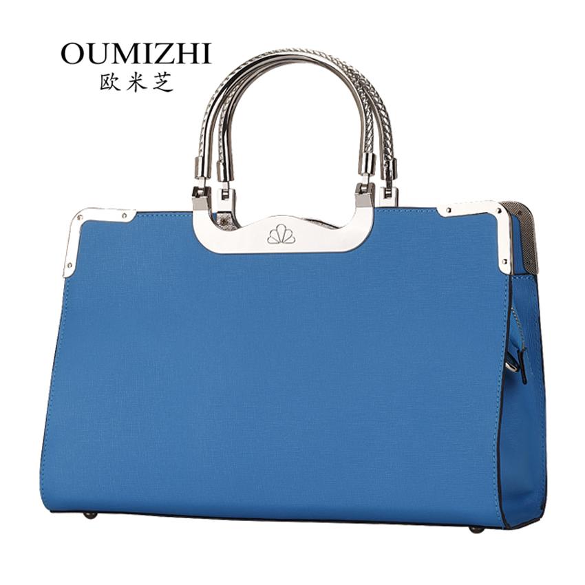 Trend 2014 women's handbag ol fashion commercial messenger bag cowhide women's handbag(China (Mainland))