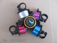 Mini Bicycle aluminum bell for wholesale Compass Sport bell Multicolor Bike bell Free shipping Good price