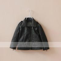 Free shipping 2014 new autumn girls windbreaker girls jacket children fur coat 6pcs/lot