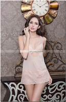 sexy lingerie Women  Sleepwear Sexy Lingerie Lace Dress Sexy Underwear with G-String