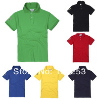 Wholesale &Retail men's t shirt Men's Fashion Short Sleeve Teet Shirts, Good Quality, Size M/L/XL/XXL Free Shipping