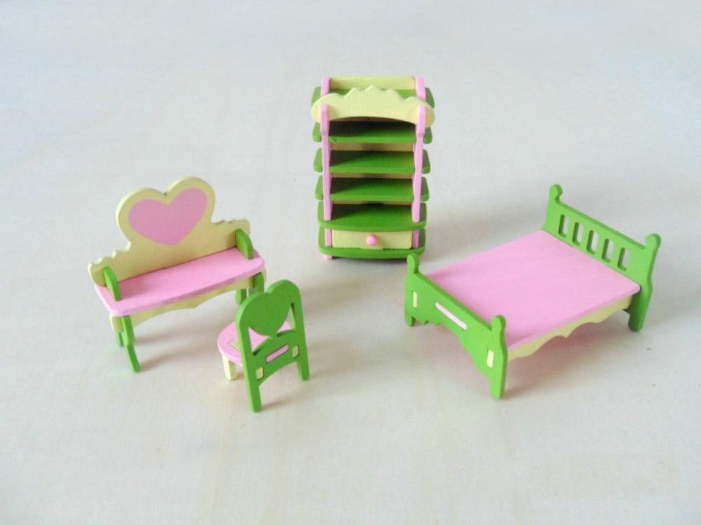 Goedkope Diy Slaapkamer : Cartoon Doll House Furniture