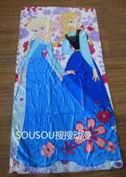 "new  Frozen Anna & Elsa Beach/Bath/pool towel sheets 100% cotton 30""*60"""