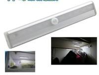 Strip LED infrared human body induction lamp wardrobe cabinet bottom corridor lamp energy-saving light trunk light