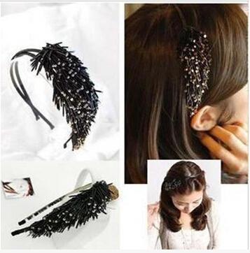 Girl thin tube flow scenery tassel hair hoop, hair accessories(China (Mainland))