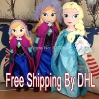 2014 Top Fasion Seconds Kill 2-4 Years Multicolor Unisex Frozen Doll Plush Toys Anna Elsa Boneco 50cm Dolls Pelucia