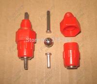 Red Chicken Nipple Drinker With Steel Ball Screw Heavy Duty Waterer Drinker Waterbowl for Poultry Rabbit Duck Goose..1000pcs/lot