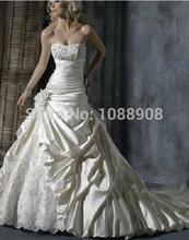 wholesale silk beach wedding dresses
