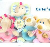 Bear/ Elephant Cute baby rattle plush super soft baby toys ,infant boys/girls toys lsy136