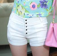 summer new 2014 women shorts femininos casual pants female candy colored high waist shorts feminino short saia