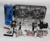 New Best Water Cooling Kit For CPU/GPU/Northbridge 240p Radiato Water Tank Etc