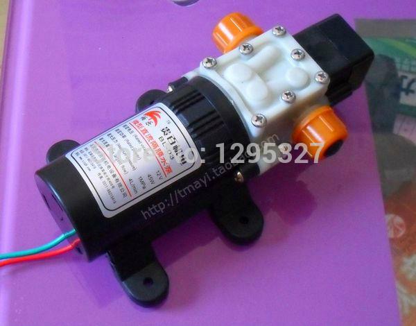 Ofertas especiais de lavagem de carro máquina de limpeza 12 V Mini portátil de alta pressão da bomba de água máquina de lavar 25 W PLD1205 bombas qualidade(China (Mainland))