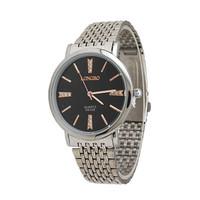 Hot Fashion Brand Jewelry Supplier Leisure Business Promotions Men Sport Waterproof Rhinestone Decoration Steel Quartz Watch