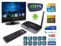 HOT CS918S Android 4.2.2 TV BOX 5.0MP A31S Quad Core 2G/16G Bluetooth HDMI android TV  Receiver USB RJ45 RK3188 OTG WiFi Mini PC