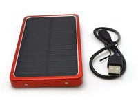 solar charger 4000mah  power bank for mobile phone,MP3,MP4,camera