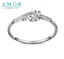 AMOR BRAND HEART 2 HEART 0 04ct SI I SERIES 100 NATURAL DIAMOND PT950 ENGAGEMENT RING