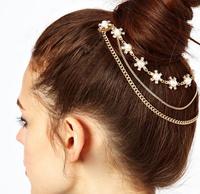 New 2014 Fashion Shiny Hair Comb Clips headband head chain Hair Bands wedding Hair Accessories For Women