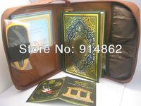 new  2.4inch LCD holy quran reading pen price   bookwith Sahih Muslim Riyad us Saliheen word by word  wholesale