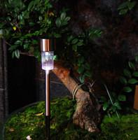 Photosensitive Solar Outdoor LED Night Light Eco-friendly LED Garden Landscape Light Lamp 6pcs/lot Free Shipping