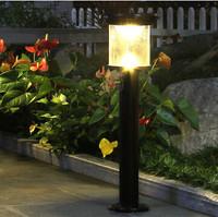 Wireless Solar LED Lawn Garden Street Lamp Light Light Control Photosensitive Outdoor Courtyard Park Lamp Aluminium alloy