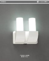 Led wall lamp aluminum aisle lights wall decoration lamp led entrance lights stair lamp 2x3w