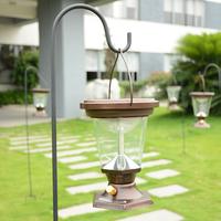 Solar Lamp Post Waterproof Outdoor Garden LED Street Lamp Post Solar Lantern Lamp Pole Free Shipping 1pcs/lot