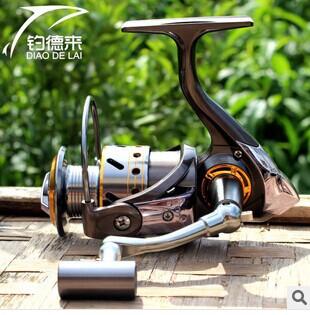 Dual patented product DK12 +1 ( all models ) 3000 Full Metal rocker wheels spinning reel fishing vessel sea fish pole wheel(China (Mainland))