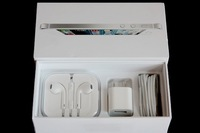 20set/pcs DHL Free shipping USA/UK/EU Version PACKING BOX For iPhone 5 16GB/32GB With All Accessories White and black
